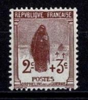 France Orphelins De Guerre 1917/1918 - YT N°148 - Neuf Avec Charnière - Neufs