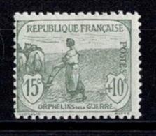 France Orphelins De Guerre 1917/1918 - YT N°150 - Neuf Avec Charnière - Neufs