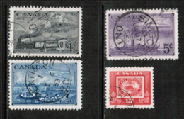 CANADA  Scott # 311-4 VF USED (Stamp Scan # 535) - Used Stamps