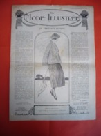 La Mode Illustrée 1920 ( Chapeaux  - Robes Modèles Métrages - Coiffures De Mariées - Mode