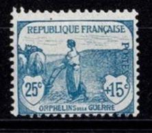 France Orphelins De Guerre 1917/1918 - YT N°151 - Neuf Trace De Charnière - France
