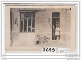 6523 AK/PC/CARTE PHOTO / 2659 / AGENCE CYCLES LA NORDISTE A SITUER - Cartoline