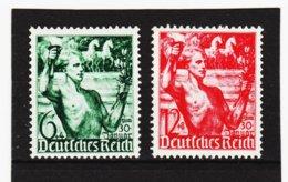 RAD208 DEUTSCHES REICH 1938 MICHL 660/61 ** Postfrisch Siehe ABBILDUNG - Deutschland