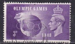 Gran Bretagna, 1948 - 3p King George VI - Nr.272 Usato° - Usati