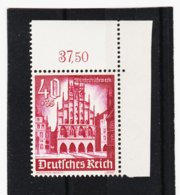 RAD214 DEUTSCHES REICH 1940 MICHL 759 ECKRAND ** Postfrisch Siehe ABBILDUNG - Deutschland