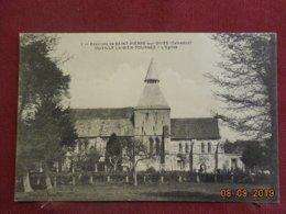 CPA - Ouville-la-Bien-Tournée - L'Eglise - Frankreich