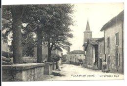 Village De VALENCIN - Grande Rue - Isère - VENTE DIRECTE X - Altri Comuni