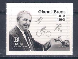 Italia • Italy (2019) Gianni Brera (Italian Sports Journalist) - Athletics Football Cycling - Single Stamp (MNH) - Francobolli