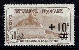 France Orphelins De Guerre 1917/1918 - YT N°167 - Neuf Avec Charnière - Unused Stamps