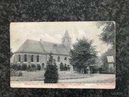 Gistel - Ghistel, De Kerk En De Ommegang Rond Het Genadebeeld -  Uitg. Van Honsebrouck - Gelopen 1913 - Gistel