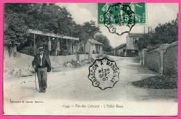 Pas Des Lanciers - L'Hôtel Roux - Animée - Phototypie E. LACOUR - Convoyeur Ambulant TARASCON à MARSEILLE 1907 - Marignane