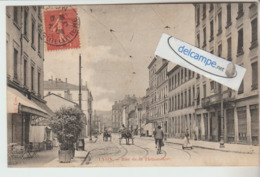 LYON : Rue De La Thibaudiére,Attelages,animée. - Lyon