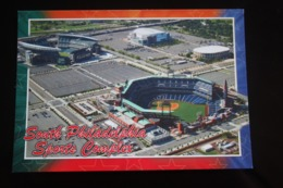 South Philadelphia,   STADIUM - STADE -  Aerial View. OLD Postcard - Stadi