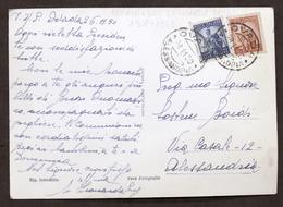 Autografo Beata Madre Leonarda Boidi Su Cartolina - 1950 - Autografi