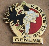 KARATE CLUB GENEVE - SUISSE - SWISS - SCHWEIZ - AIGLE  -              (22) - Pin