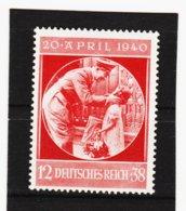 RAD116 DEUTSCHES REICH 1940 MICHL 744 ** Postfrisch Siehe ABBILDUNG - Unused Stamps