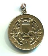 Bois De Lessines Médaille L'écho Des Bois Reconnaissance 1876 - 1926 Huguenin  D: 50 Mm - Professionnels / De Société