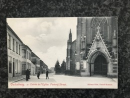 Oudenburg : Entrée De L'Eglise - Pastorij Straat  - Uitg. Denolf-Rosseel - Oudenburg