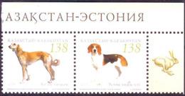 Kazakhstan 2005  Hounds Dogs Chiens  Y&T N° 436 437 MNH ** - Kazakhstan