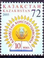 Kazakhstan 2005 Constitution  Y&T N° 434 MNH ** - Kazakhstan