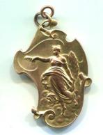 Hoves Médaille 75 ° Anniversaire De L'indépendance 1905  D: 42 X 65 Mm - Professionnels / De Société