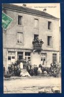 54. Crusnes-Village. Café-Restaurant Ch. Trinclet. Villerupt-Saulnes 1913 - Autres Communes