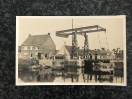 Oudenburg : Brug Over Het Kanaal Oudenburg-Nieuwpoort  - Uitg. Dekeyzer - Echte Foto-kaart - Oudenburg