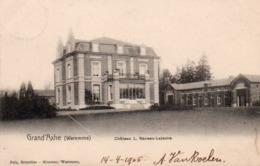 99Av   Waremme Grand' Axhe Chateau L. Naveau Lejeune - Waremme