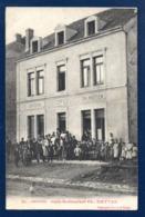 54. Crusnes-Village. Epicerie-Café-Restaurant Ch. Metten. 1912 - France