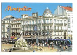 Montpellier (34) La Place De La Comedie - Montpellier