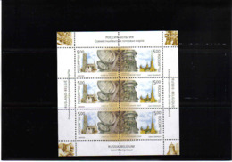 RUSSIA 2003 CLOCKS MNH** SHEETLET - Uhrmacherei