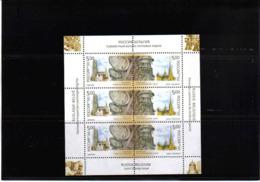 RUSSIA 2003 CLOCKS MNH** SHEETLET - Horloges