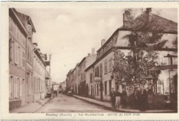 Moselle, Boulay : Rue Marechal Foch, Hotel Du Lion D'Or - Boulay Moselle