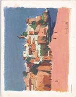 MENU CROISIERE CNP / TROFIMOFF/ PAQUEBOT ANCERVILLE / 31/7/1966 - Menus