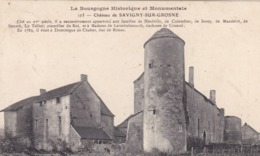 Saône-et-Loire - Château De Savigny-sur-Grosne - Other Municipalities