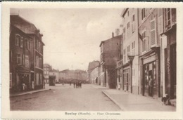 Moselle, Boulay : Place Clémenceau - Boulay Moselle