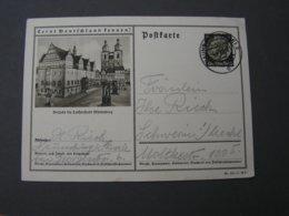 DR Bildkarte Wittenberg 1939 - Ganzsachen