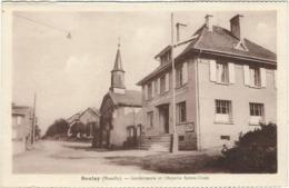 Moselle, Boulay : Gendarmerie Et Chapelle Ste Croix - Boulay Moselle