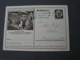 DR Bildkarte  Messe Leipzig 1935 - Ganzsachen