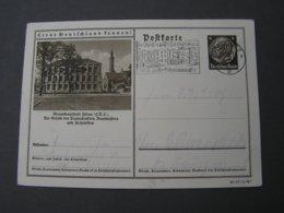 DR Bildkarte  Bauschule Ziottau 1935 - Ganzsachen