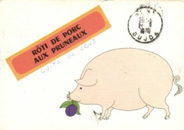 Recette ROTIS DE PORC AUX PRUNEAUX  RV  Vers Le Maroc Cachets Inconnu ! - Recettes (cuisine)