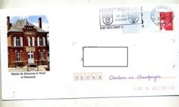 Pap Luquet Flamme Reims Jumelage Salzbourg Illustré Mairie Monceau - Biglietto Postale