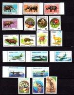 Congo 1994, Animaux, Avions, Entre 923 Et PA 410**, (pas 990 E) + BF 40**, Cote 80 € - Congo - Brazzaville
