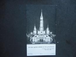 """IMAGE Pieuse - LOURDES """"Je Veux Qu'on Vienne En Procession"""" - Religión & Esoterismo"""