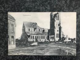 Passendale - Paschendaele - De Kerk ( Zonnebeke WW1) - Feldpost-karte - Zonnebeke