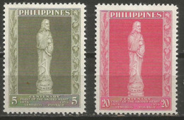 Philippines - 1956 Sacred Heart/Eucharistic Congress  MNH **   Sc 632-3 - Philippines