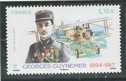 FRANCE 2017 GEORGES GUYNEMER NEUF** - 1960-.... Neufs