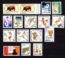 Sénégal 1986-94, Animaux, J.O. Barcelone, Hydravion, Séries + Dépareillés, Entre 373 Et  BF 34-35**, Cote 91 € - Sénégal (1960-...)