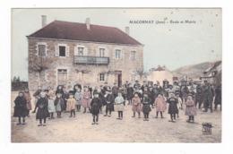 Macornay.39.Jura.Ecole Et Mairie. - Francia