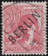 Berlin     .   Michel     .     11   .      O         .    Gebraucht    .    /    .    Cancelled - [5] Berlino